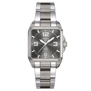 Certina DS Trust C019-510-44-087-00 Silver Strap with Dark Gray Dial Titanium Men's Watch