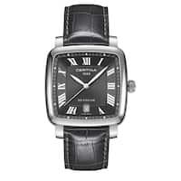 CERTINA DS Podium  Dark Gray Strap with Dark Gray Dial Leather Unisex Watch