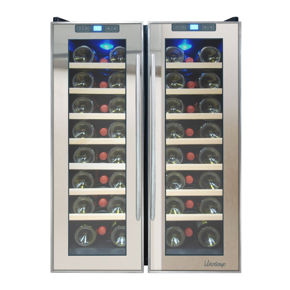 Element by Vinotemp 48-bottle Dual-zone Thermoelectric Mi...