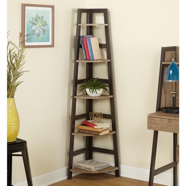 Simple Living Lana Corner Shelf