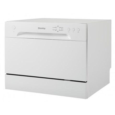 Danby DDW621WDB 6 Place Setting Counter Top Dishwasher White