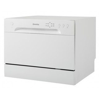 Danby DDW621WDB 6 Place Setting Counter Top Dishwasher White
