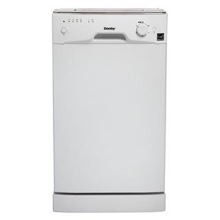 Danby DDW1801MW 8 Place Setting Built In Dishwasher White
