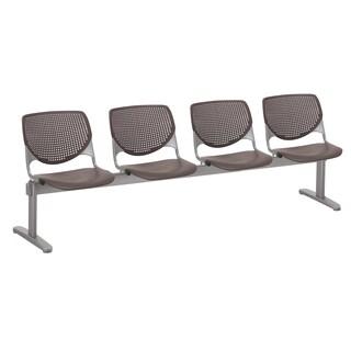 KOOL Brownstone 4-seat Beam Seating