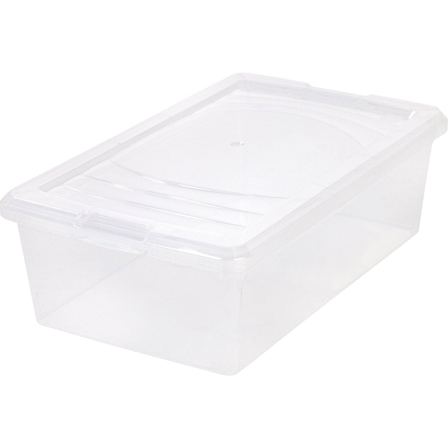 USA Iris Clear Modular 6-quart Shoe Box (Clear) (Plastic)