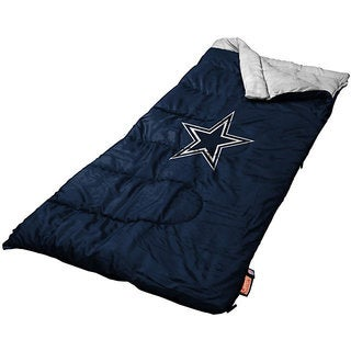 Official Dallas Cowboys Blue/White Sleeping Bag