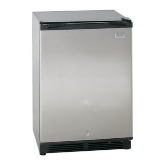 Avanti AR52T3SB 5.2 cu Ft all Refrigerator Auto Defrost Built in or Free Standing Black with Stainless Steel