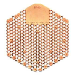 Fresh Products Wave 3D Urinal Deodorizer Screen Orange Mango Fragrance 10 Screens/Box