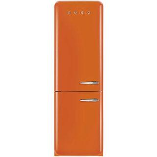 Smeg FAB32UORLN 50s Style Bottom Freezer 11.7 Cu Ft Refrigerator
