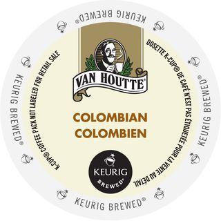 Van Houtte Colombian Medium Coffee, K-Cup Portion Pack for Keurig Brewers (24 Count)