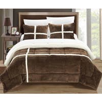Chic Home Chiron Brown 7-Piece Comforter Set