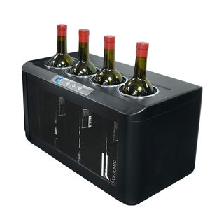 Element by Vinotemp Il Romanzo 4-bottle Open Wine Cooler