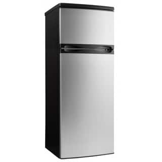 Danby DPF073C1BSLDD 7.3CF Apartment Size Refrigerator Stainless Steel Finish|https://ak1.ostkcdn.com/images/products/14533385/P21086227.jpg?impolicy=medium