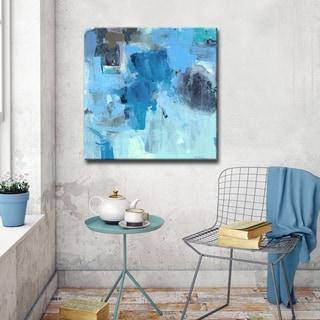 'Warm Blues' Ready2HangArt Canvas by Dana McMillan