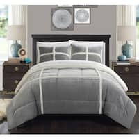 Chic Home Chiron Silver 7-Piece Comforter Set