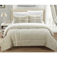 Chic Home Chiron Beige 7-Piece Comforter Set