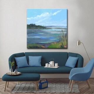 'Coral & Blues' Ready2HangArt Canvas by Dana McMillan