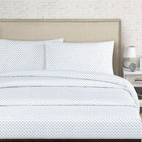 Cleo 250 Thread Count Cotton Percale Sheet Set