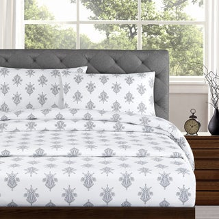 Arwen 250 Thread Count Cotton Percale Sheet Set