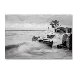 Jason Shaffer 'Lake Erie' Canvas Art