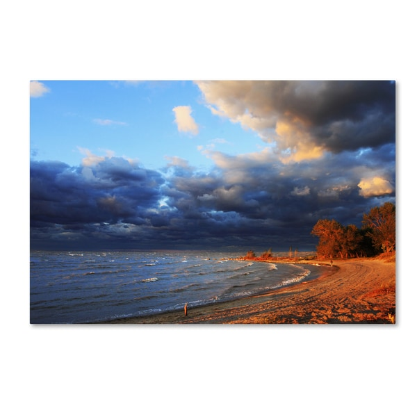 Jason Shaffer 'Lake Erie Autumn' Canvas Art