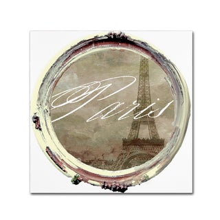 Color Bakery 'Paris in Frames 3' Canvas Art