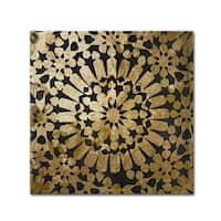 Color Bakery 'Moroccan Gold III' Canvas Art