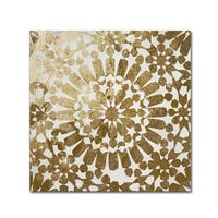 Color Bakery 'Moroccan Gold I' Canvas Art