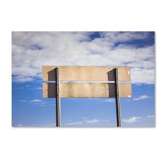 Jason Shaffer 'Country Sign' Canvas Art