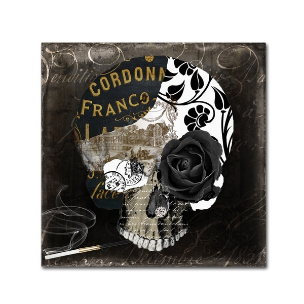 Color Bakery 'Paris Halloween II' Canvas Art