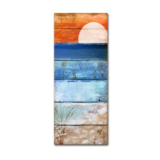 Color Bakery 'Beach Moonrise II' Canvas Art