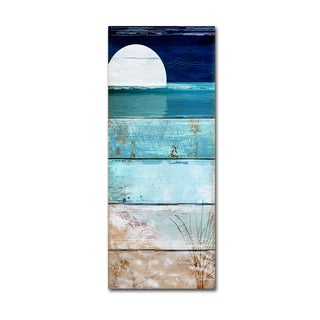 Color Bakery 'Beach Moonrise I' Canvas Art