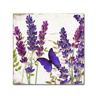 Color Bakery 'Lavender I' Canvas Art