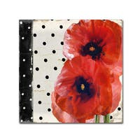Color Bakery 'Scarlet Poppies I' Canvas Art