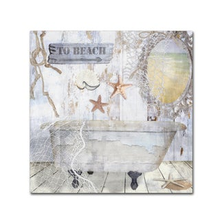 Color Bakery 'Beach House I' Canvas Art