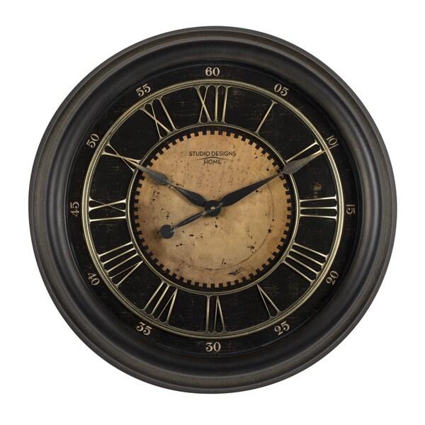 Studio Designs Home 24-inch Classic Villa Wall Clock