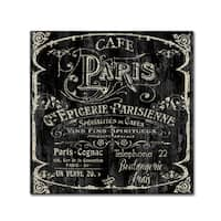 Color Bakery 'Paris Bistro VI' Canvas Art