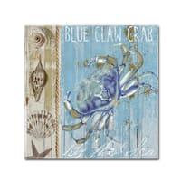 Color Bakery 'Blue Crab I' Canvas Art