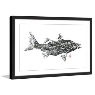 'Old Snook' Framed Painting Print