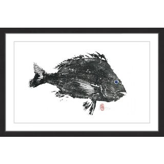 'Large Sheeps Head' Framed Painting Print