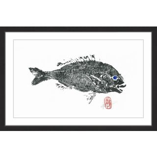'Sea Perch' Framed Painting Print