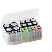 Clear Multi-battery Organizer