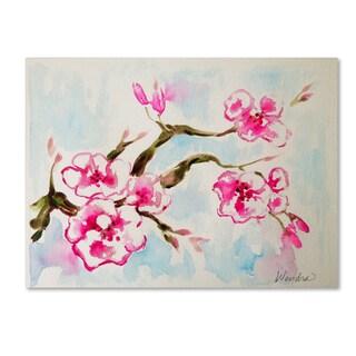 Wendra 'Cherry Blossom' Canvas Art