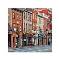 CATeyes 'Georgetown Shops DC 2' Canvas Art