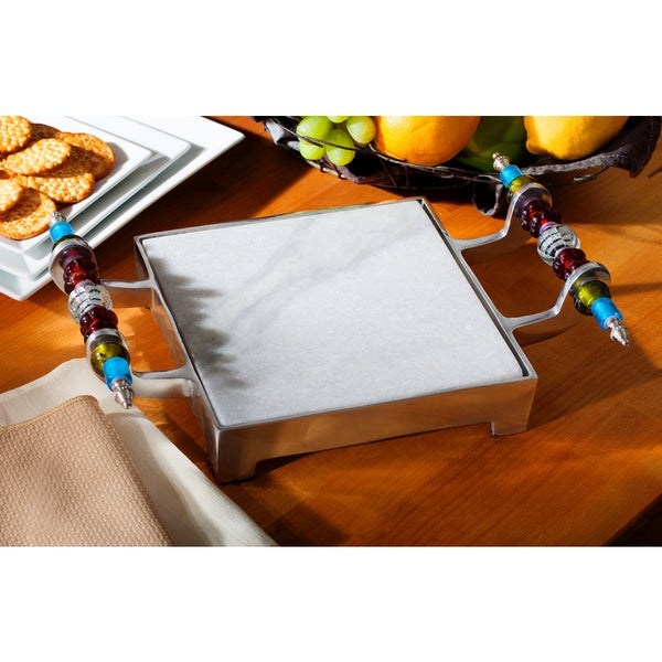 Beaded Marble Cheese Serving Tray. Opens flyout.