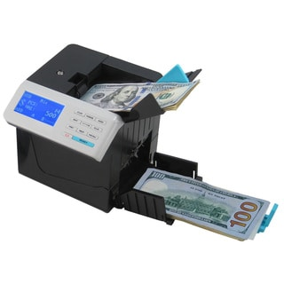 Cassida Cube Automatic Mixed Denomination Bill Counter and Sorter