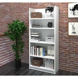 Pro-Linea Bookcase (Option: White)|https://ak1.ostkcdn.com/images/products/14535339/P21087964.jpg?impolicy=medium