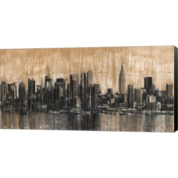shop dario moschetta nyc skyline 1 canvas art on sale free