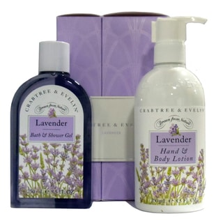 Crabtree and Evelyn Lavender Duo Gift Set