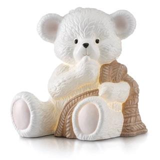 Lenox Baby Bear White Porcelain Figural Night Light